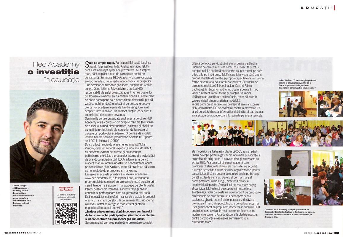 Articol</br>Estetica</br>nr.15 / 2011