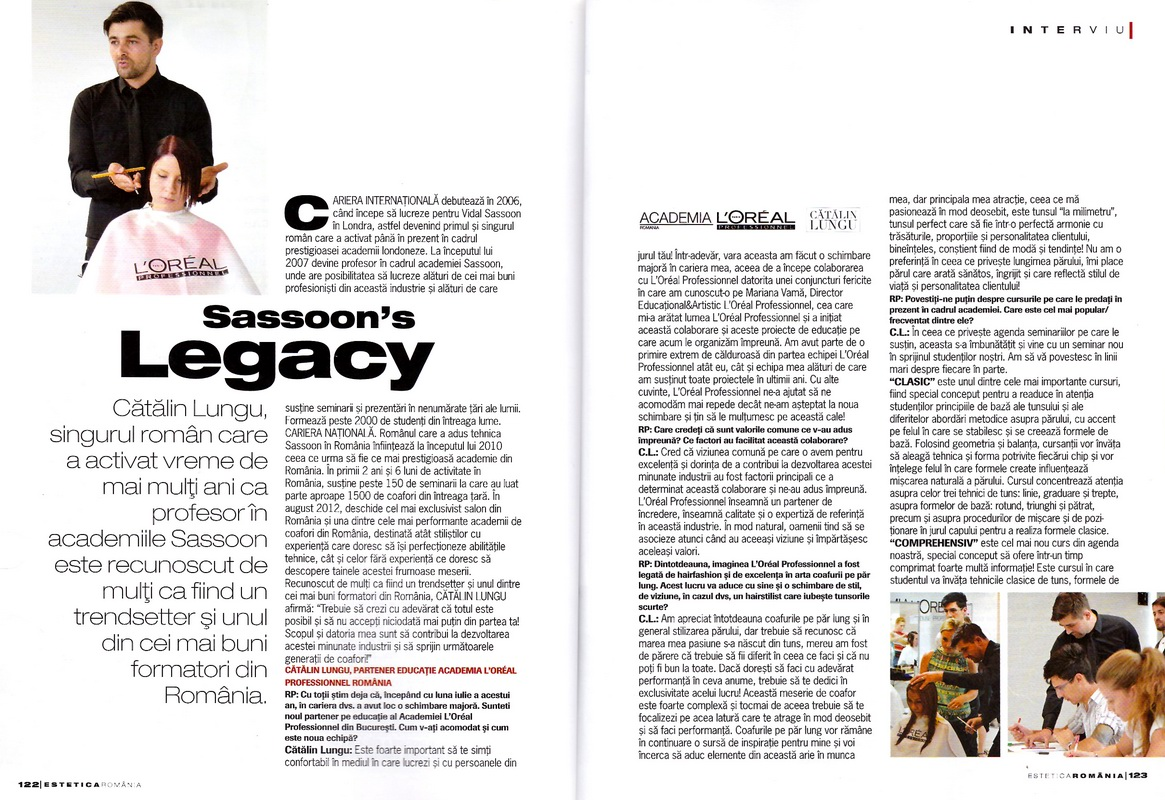 Articol</br>Estetica</br>nr. 20 / 2012