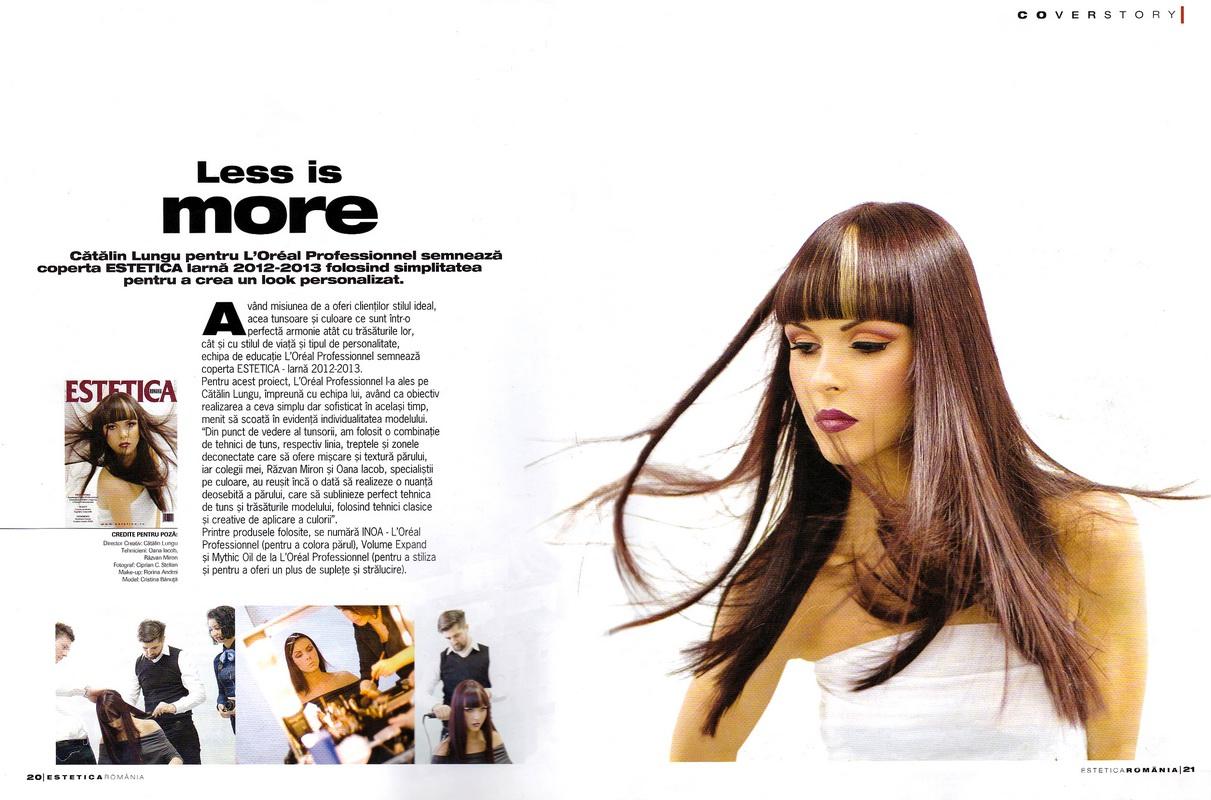 Articol</br>Estetica</br>nr. 21 / 2013