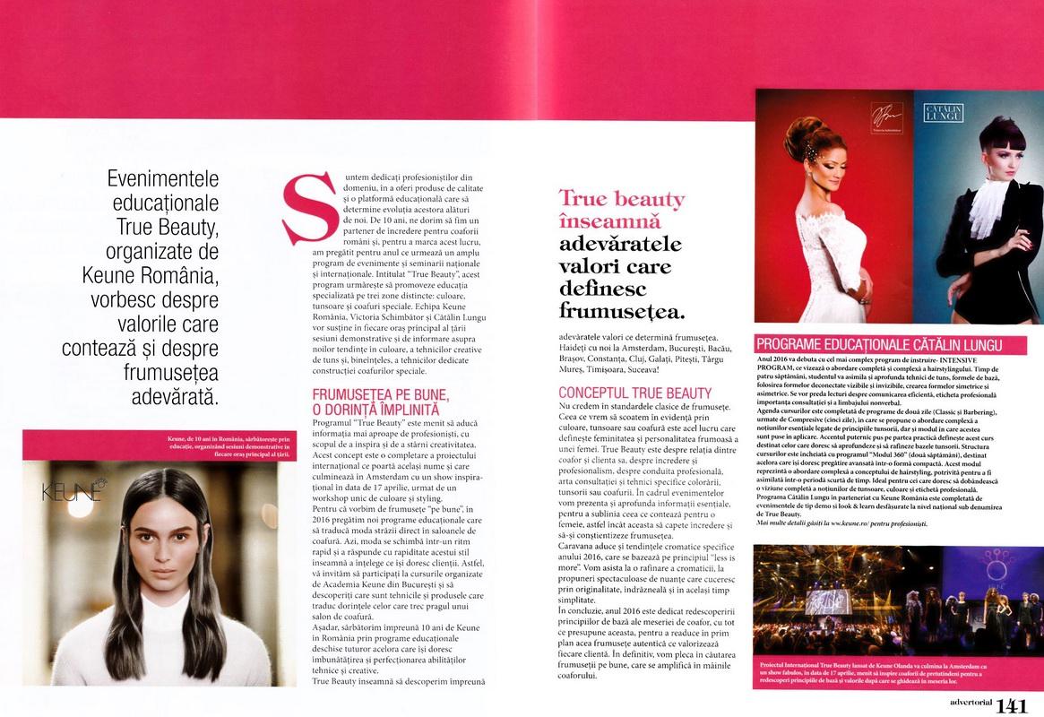 Articol</br>Estetica</br>nr.33 / 2016