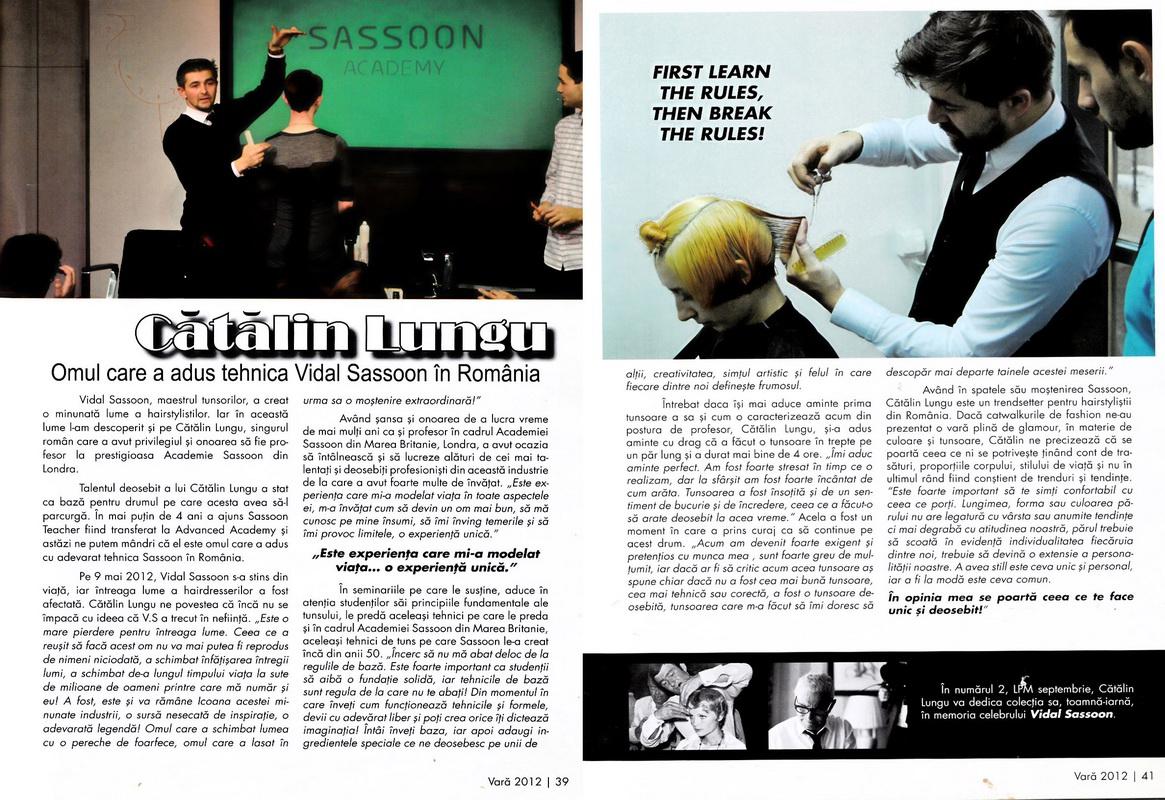 Articol</br>Les Professionneles</br>nr. 1 / 2012