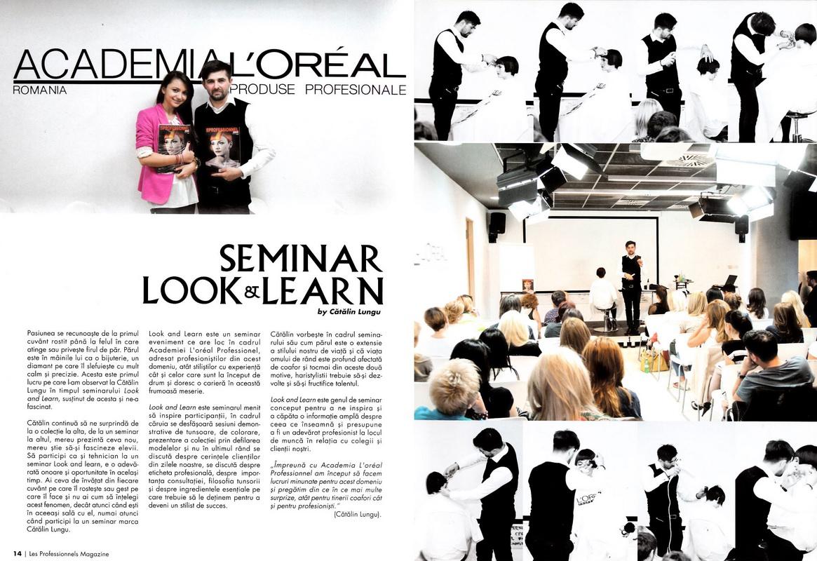 Articol</br>Les Professionneles</br>nr. 3 / 2012
